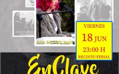 VIERNES 18 DE JUNIO | CONTINUAMOS ENCLAVE MUSICAL