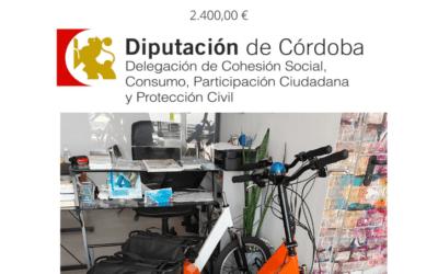 Convocatoria Subvenciones Ayuntamientos equipamiento voluntarios de protección civil de Córdoba | Convocatoria 2020